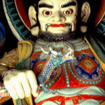 A guardian statue at Bulkuksa