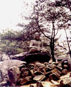 Buddha on Pedestal