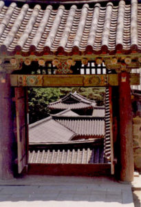 Korea/Bulguksa/roofs/CarolDussere