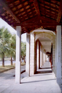 Granite hallway